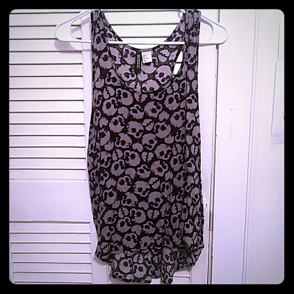 Divided by H&M Tops - Skulls&Hearts tank top